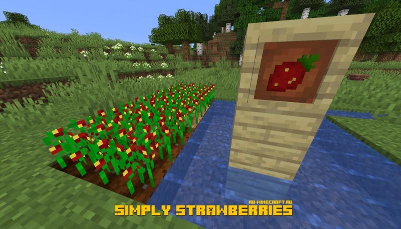 Simply Strawberries - просто клубника [1.16] [1.15.2]