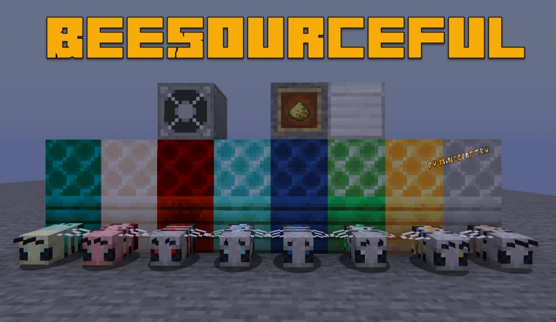 BeeSourceful - новые пчелы [1.16.1] [1.15.2]