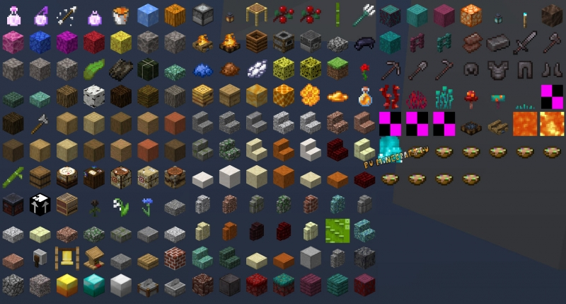 Future Versions - предметы из новых версий [1.15.2] [1.14.4] [1.12.2]
