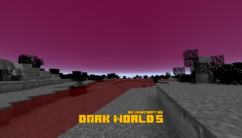 Dark world's - чёрный мир [1.14.4] [1.12.2]