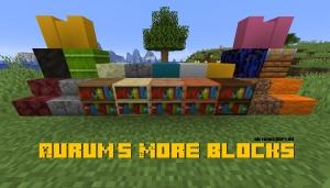 Aurum's More Blocks - больше блоков для декора [1.16.3] [1.15.2]