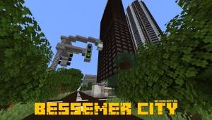 BESSEMER CITY - современный город [1.15.2] [1.14.4] [1.13.2]