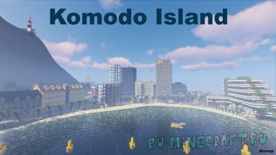 KOMODO ISLAND - островной город [1.16] [1.15.2] [1.14.4] [1.13.2]
