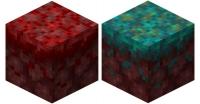 Блоки искаженного и багрового нилия