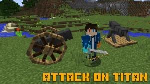 Attack on Titan - мод по атаке титанов [1.12.2]