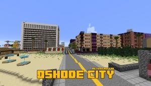 Oshode City - большой город [1.15.2] [1.14.4] [1.13.2] [1.12.2]