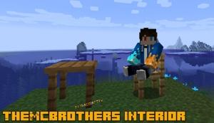 TheMCBrothers Interior - столы и стулья [1.16.3] [1.15.2] [1.14.4]