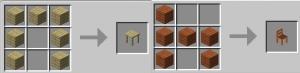 TheMCBrothers Interior - столы и стулья [1.17.1] [1.16.5] [1.15.2] [1.14.4]