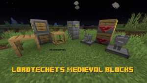 LordTechet's Medieval Blocks - средневековые декоративные блоки [1.14.4]