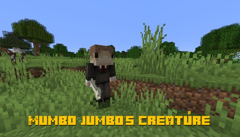 Mumbo Jumbo's Creature - прикольный моб [1.14.4]