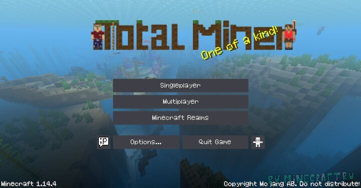 Total Miner - сборная солянка [1.15.2] [1.14.4] [1.13.2] [16x]