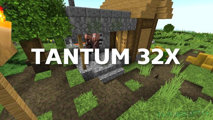 Tantum 32x - мрачный ресурспак [1.16] [1.15.2] [1.14.4] [32x]