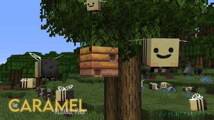 Caramel - легкий средневековый ресурспак [1.16] [1.15.2] [1.14.4] [1.13.2] [16x]