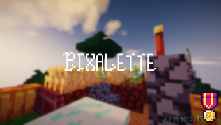 Pixalette - пиксельный ресурспак [1.16] [1.15.2] [1.14.4] [1.13.2] [16x]