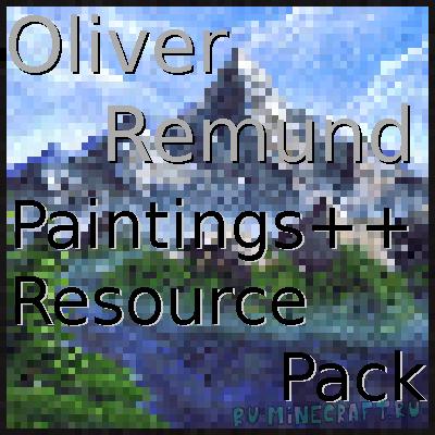 Oliver Remund Painting Pack - пак картин для мода Paintings ++ [1.16.4] [1.15.2] [1.14.4]