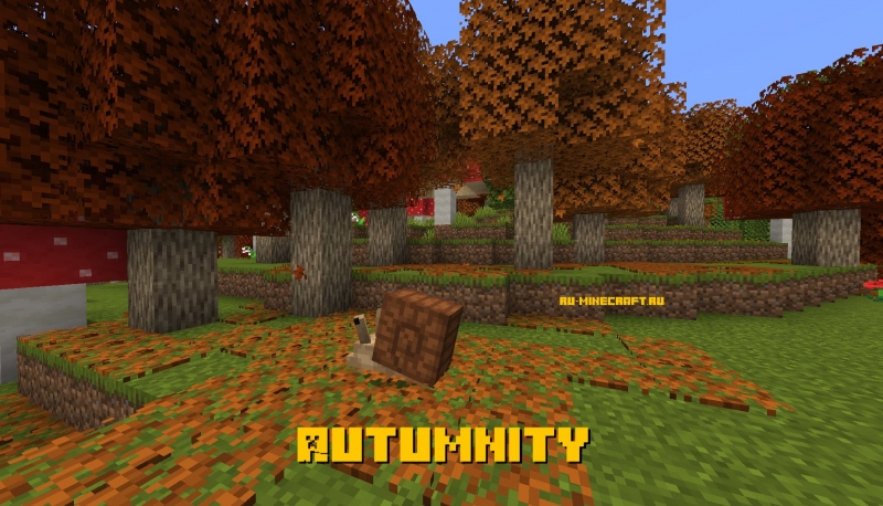 Autumnity - немного осени в майнкрафте [1.15.2] [1.14.4]