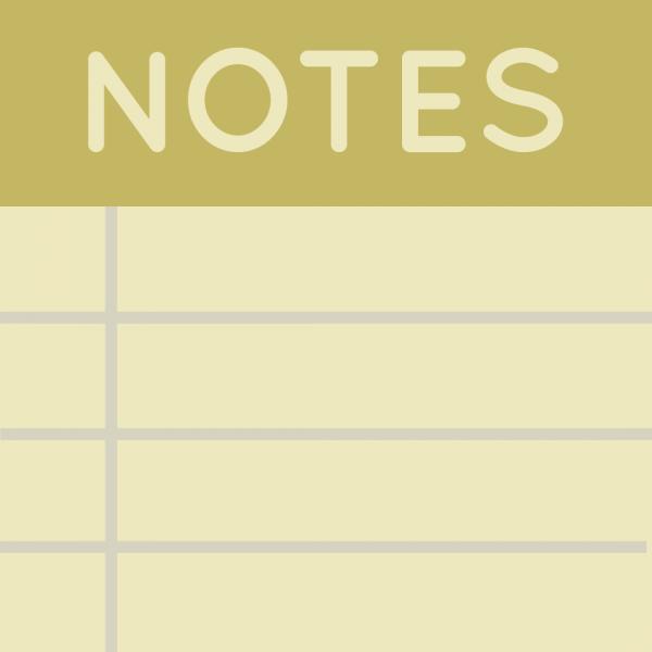 Notes - блокнот для заметок внутри игры [1.16.3] [1.15.2] [1.14.4] [1.12.2] [1.11.2] [1.10.2] [1.7.10]