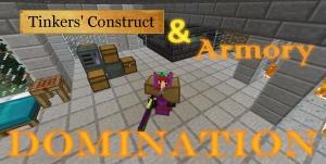 Tinkers' Domination - создай лучшие броню и оружие [1.12.2] [Сборка]