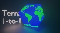 Terra 1 to 1 - генерация реального мира в майнкрафт [1.12.2]