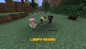 Loopy Heads - небольшие модельки [1.14.4] [1.12.2]