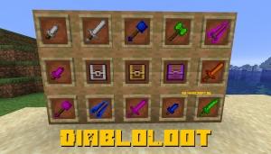 DiabloLoot - лут как в РПГ играх [1.16.5] [1.15.2] [1.14.4]