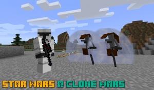 Star Wars A Clone Wars Survival - мод на звездные войны [1.7.10]