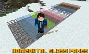 Horizontal Glass Panes - горизонтальные панели [1.16.3] [1.15.2] [1.12.2] [1.11.2] [1.8.9] [1.7.10]