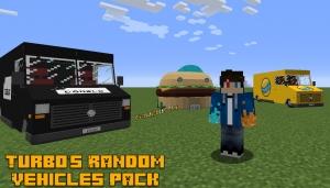 Turbo's Random Vehicles Pack - случайные машины для симулятора транспорта [1.12.2]