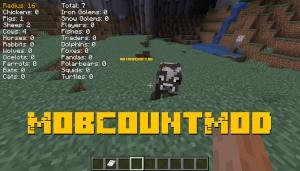 MobCountMod - подсчет мобов в округе [1.16.5] [1.15.2] [1.14.4]