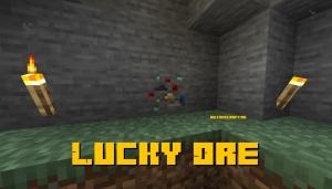 Lucky Ore - руда удачи [1.16.3] [1.15.2]