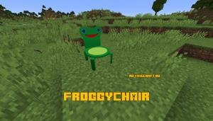 FroggyChair - кресло-лягушка [1.16.1] [1.15.2]