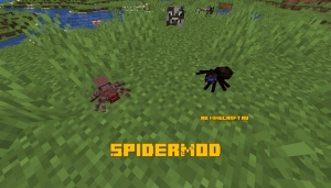 SpiderMod - парочка пауков для майнкрафта [1.15.2]