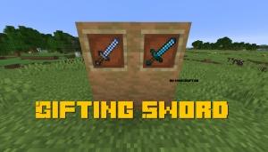 Gifting Sword - меч с дополнительным лутом [1.15.2] [1.14.4]