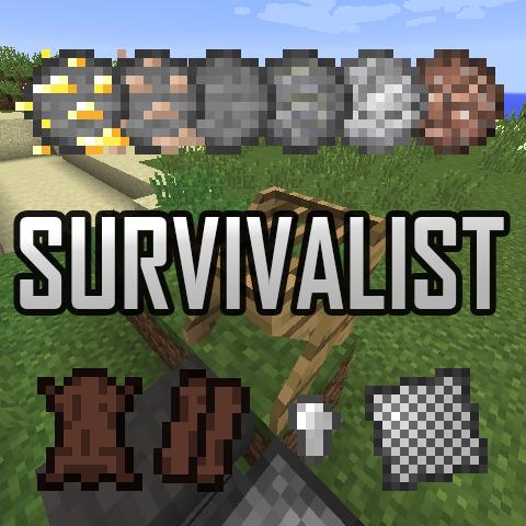 Survivalist - хардкор [1.15.2] [1.14.4] [1.12.2] [1.11.2] [1.10.2] [1.7.2]