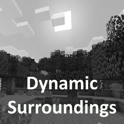 Dynamic Surroundings  - реалистичное окружение, звуки, эффекты [1.16.5] [1.15.2] [1.14.4] [1.12.2] [1.8.9] [1.7.10]