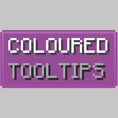 Coloured Tooltips - цвет подсказок [1.16.5] [1.15.2] [1.14.4] [1.12.2]