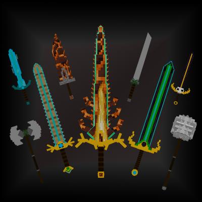 Advanced Swords - новое оружие и броня [1.15.2] [1.14.4] [1.12.2] [1.11.2] [1.9.4] [1.8.9]