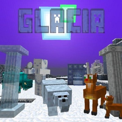 Glacia Dimension - снежное измерение [1.15.2] [1.14.4] [1.7.10]