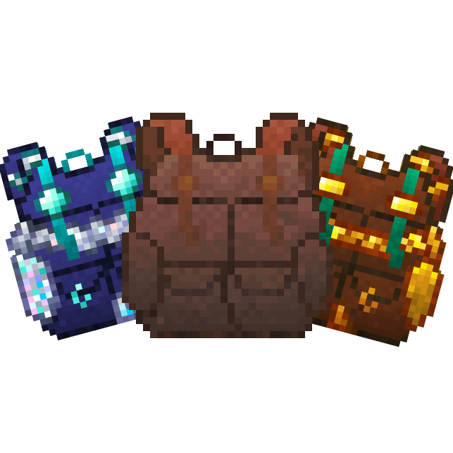 Packed Up (Backpacks) - Удобные рюкзаки [1.16.3] [1.15.2] [1.14.4] [1.12.2]