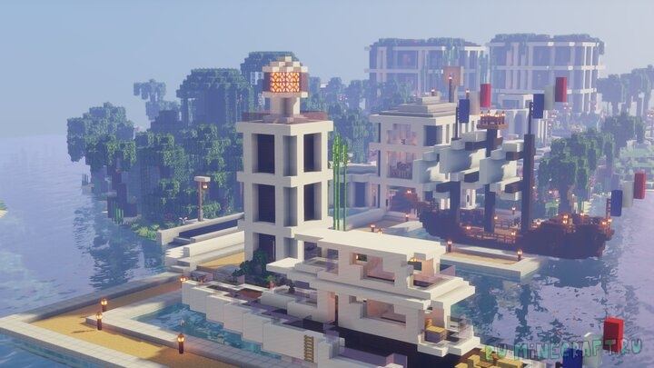 Summeria - современный небольшой город [1.16] [1.15.2] [1.14.4]