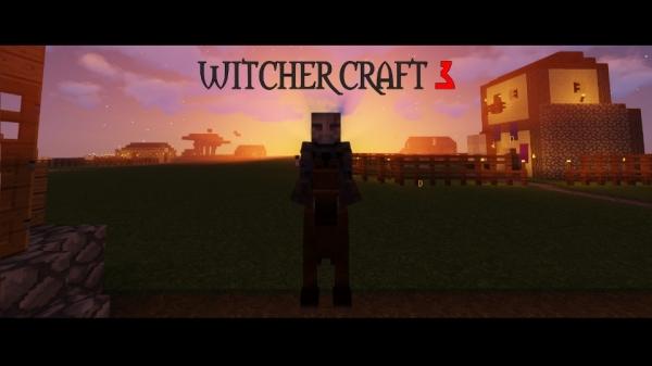 WitcherCraft 3 - сборка Ведьмак во вселенной Майнкрафта  [1.12.2]