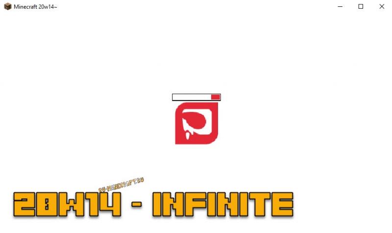 Снапшот Майнкрафт 1.16 - бесконечность 20w14infinite (шутка)
