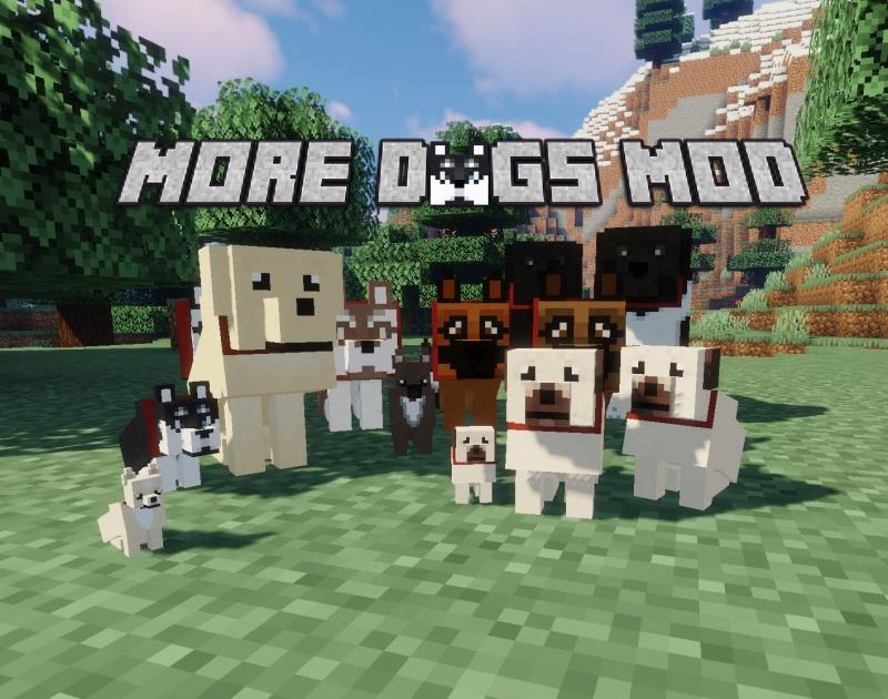 More Dogs - большие видов собак [1.15.2] [1.14.4]