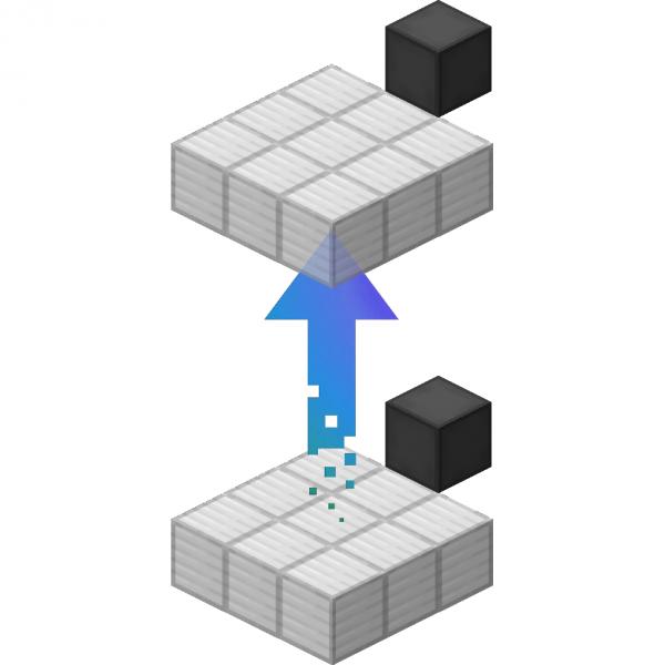 Moving Elevators - двигающийся простой лифт [1.16.5] [1.15.2] [1.14.4] [1.12.2]