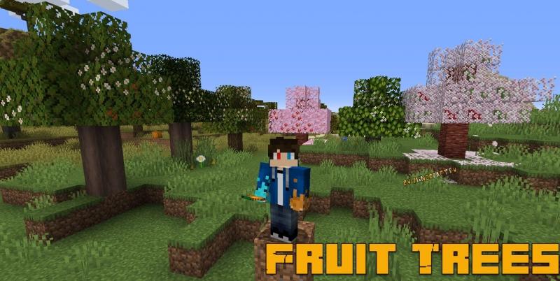Fruit Trees - фруктовые деревья, фрукты [1.16.3] [1.15.2]