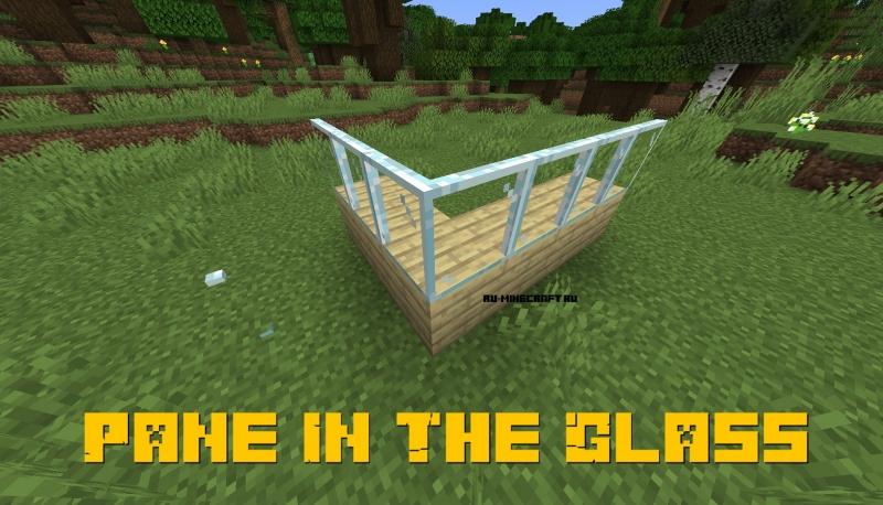 Pane In The Glass - стеклянные панели на углах блоков [1.17.1] [1.16.5] [1.15.2]
