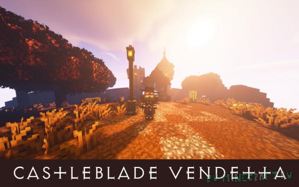 Dreadfire: Castleblade Vendetta - магически-средневековая сборка [1.12.2] [Сборка] [185 модов]