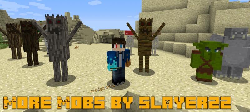 More Mobs by Slayerzz - разные новые мобы [1.15.2] [1.14.4] [1.12.2]