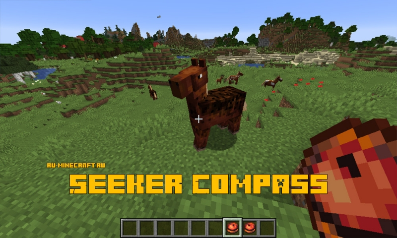 Seeker Compass - компас для поиска существ [1.15.2]