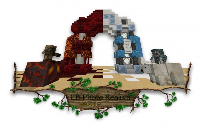 LB Photo Realism Reload - лб фото реализм текстурпак [1.16] [1.15.2] [1.14.4] [1.12.2] [1.7.10] [128x]